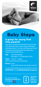 Baby Steps - Brimbank Youth Services