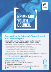 Brimbank Youth Council 2021
