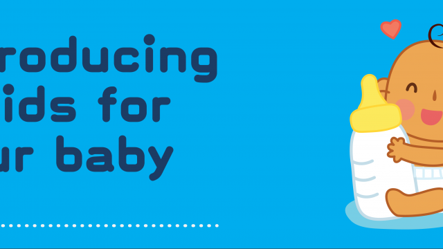 Baby Steps: Introducing Solids For Your Baby