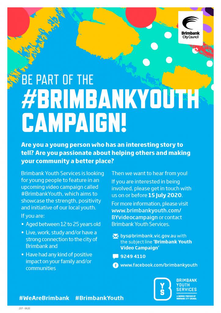 BrimbankYouth Video Campaign