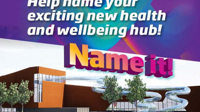 Help name your new health and wellbeing hub
