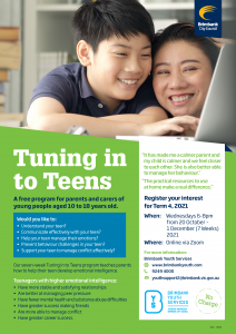 Tuning In To Teens