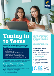 Tuning In To Teens - Brimbank Youth Services Program